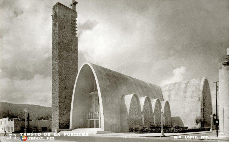 Fotos de Monterrey, Nuevo León, México: Templo de La Purísima