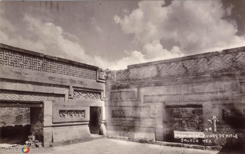 Ángulo interior. Ruinas de Mitla