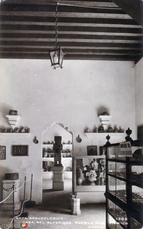 Departamento Arqueológico. Casa del Alfeñique