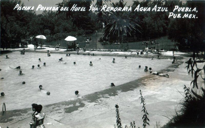 Piscina del Hotel Spa Reforma Agua Azul