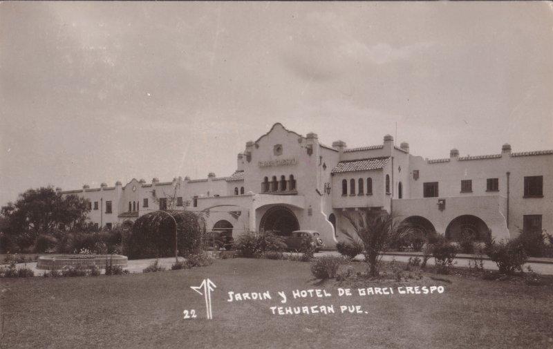 Jardín y Hotel Garci Crespo