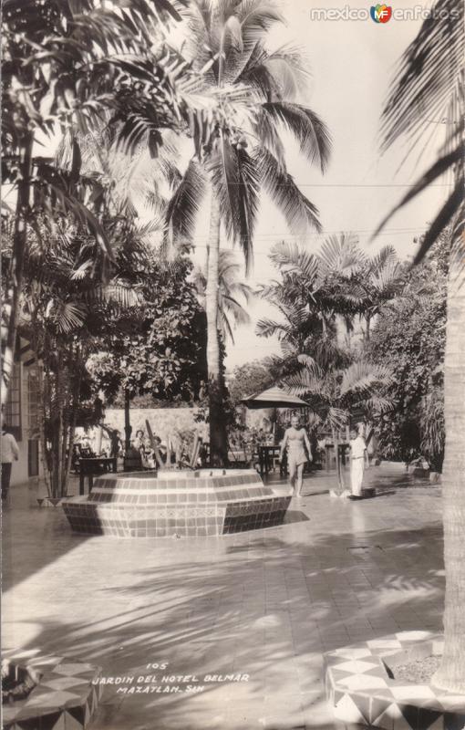 Jardín del Hotel Belmar