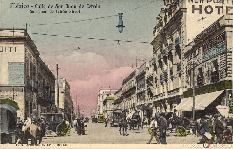 Calle San Juan de Letrán