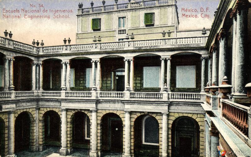 Fotos de Ciudad de M�xico, Distrito Federal, M�xico: Escuela Nacional de Ingenieros