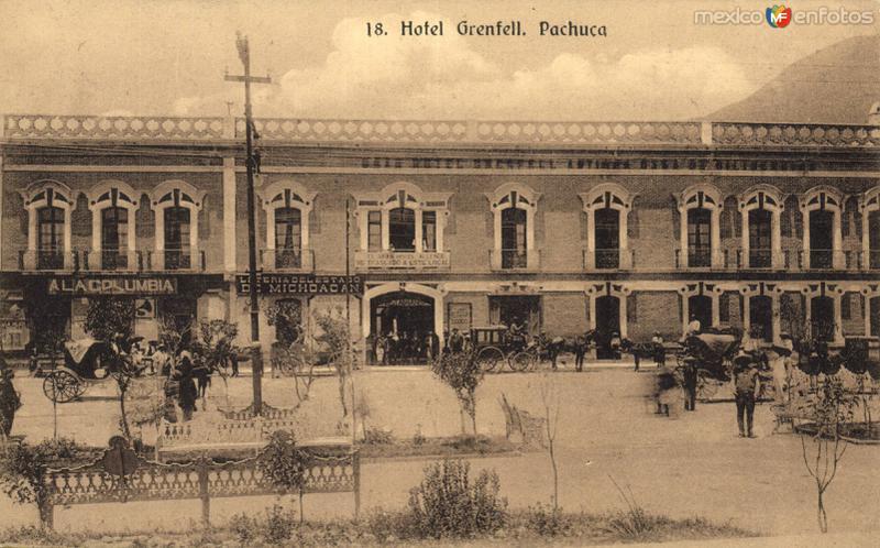 Fotos de Pachuca, Hidalgo, M�xico: Hotel Grenfell