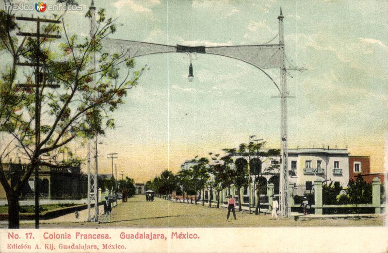 Fotos de Guadalajara, Jalisco, M�xico: Colonia Francesa