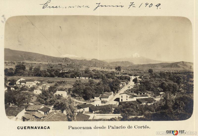 Panorama desde Palacio de Cortés