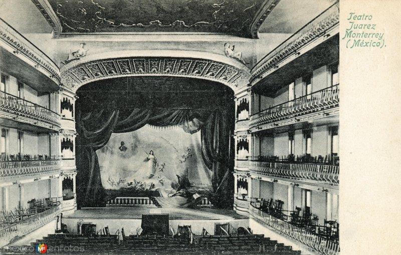 Fotos de Monterrey, Nuevo Le�n, M�xico: Teatro Ju�rez