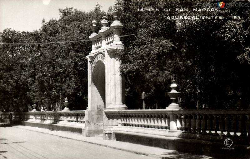 Jardín de San Marcos