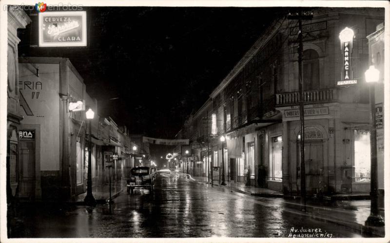 Avenida Juárez e Ignacio Allende