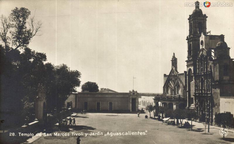 Templo de San Marcos, Tivoli y Jardín