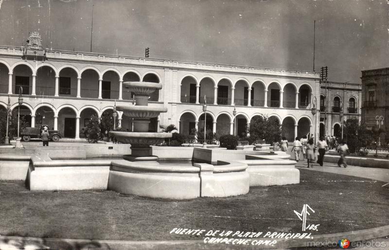 Fuente de la Plaza Principal
