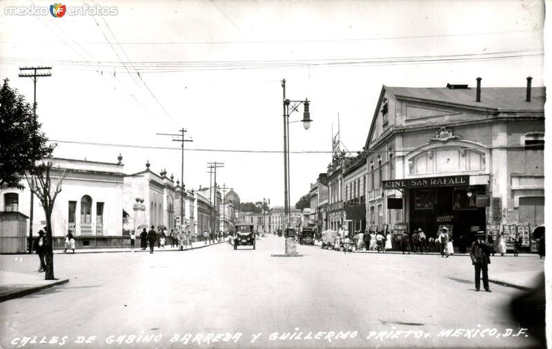 Calle Gabino Barreda