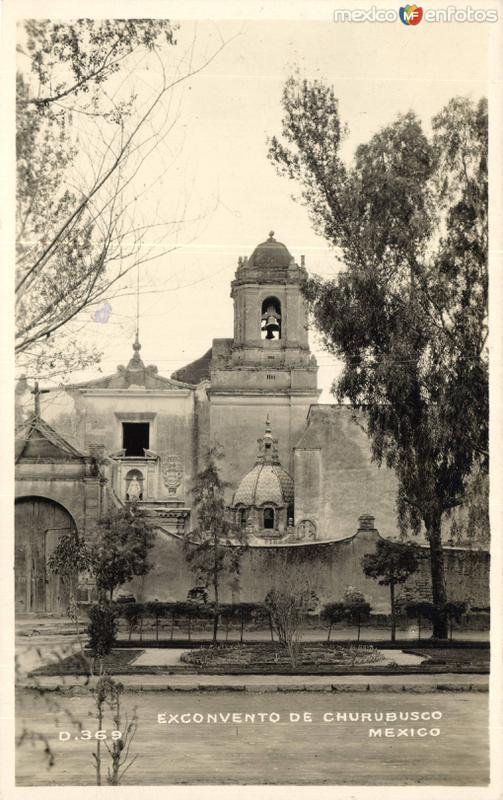Fotos de Ciudad de M�xico, Distrito Federal, M�xico: Convento de Churubusco