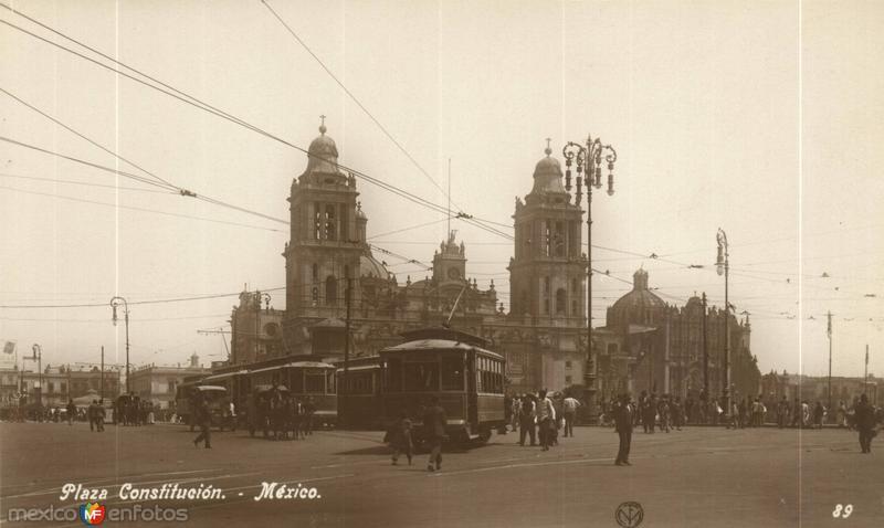 El Zócalo. Plaza Constitución