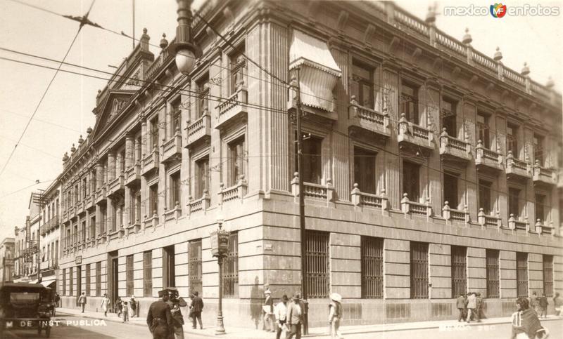 Ministerio de Instrucción Pública