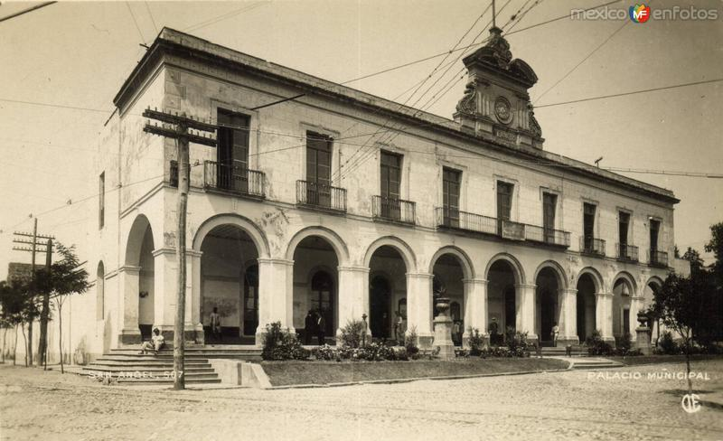 Antiguo Palacio Municipal de San Angel