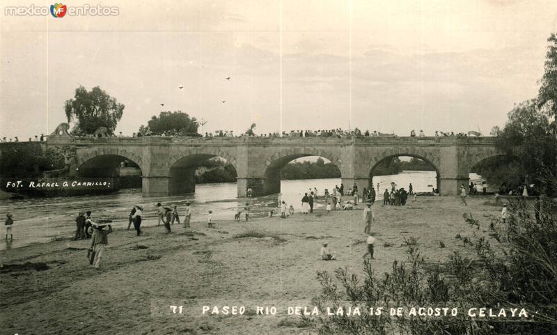 Paseo en el Río de la Laja 15 de Agosto