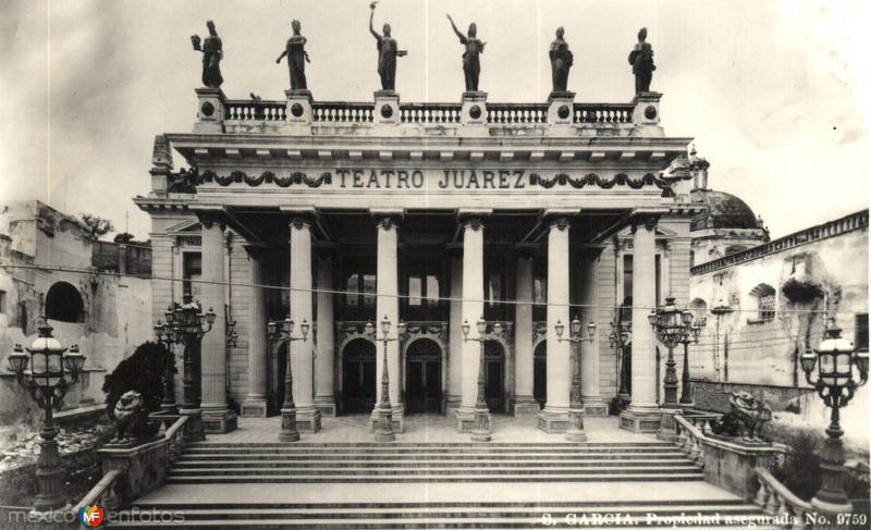 Fotos de Guanajuato, Guanajuato, M�xico: Teatro Ju�rez