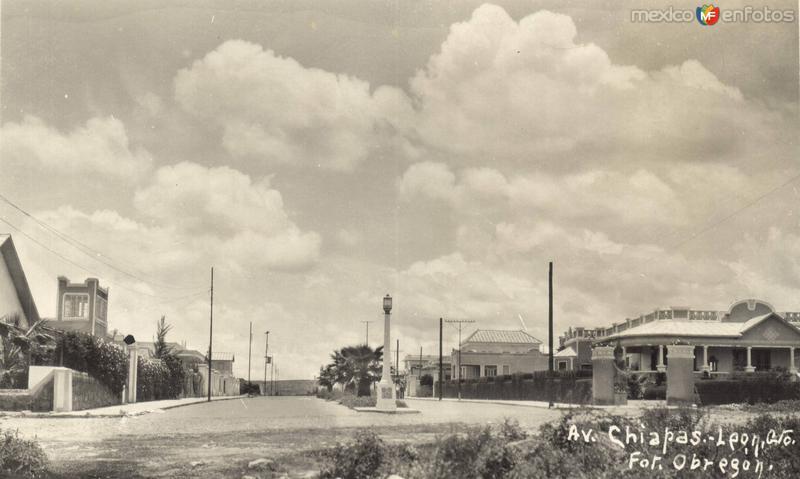 Avenida Chiapas