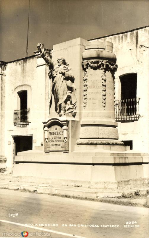 Fotos de Ecatepec, México, México: Monumento a Morelos. La Patria Agradecida