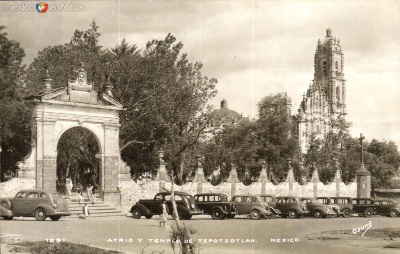 Atrio y Templo de Tepotzotlán