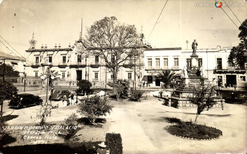 Jardín M. Ocampo y Palacio