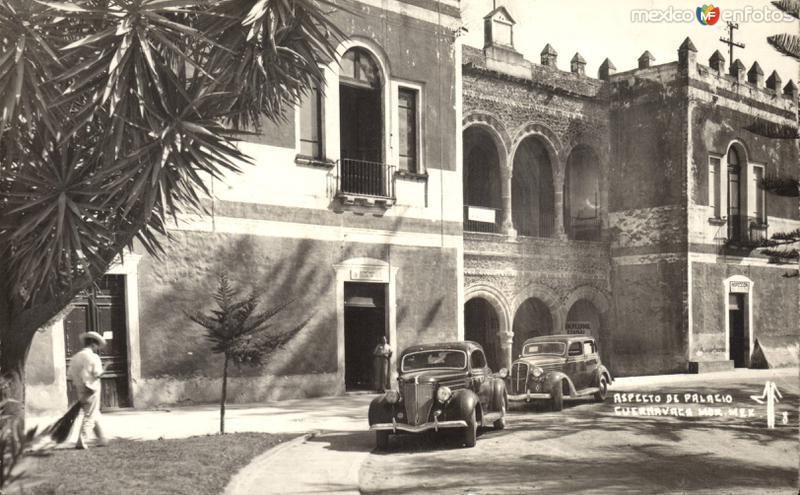 Aspecto del Palacio de Cortés