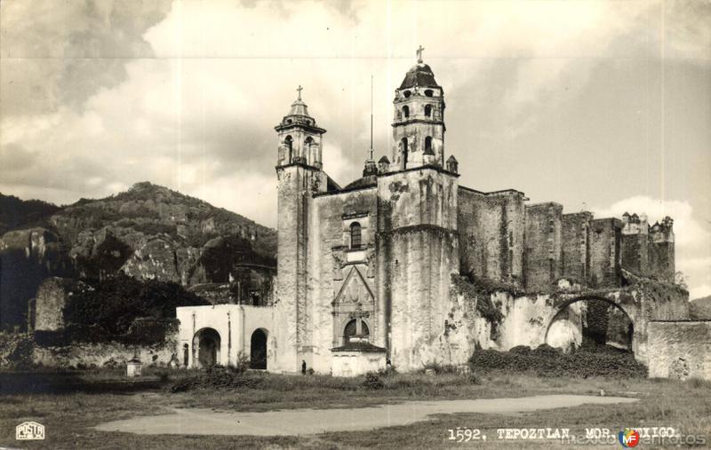 Fotos de Tepoztl�n, Morelos, M�xico: Ex convento de Ntra. Sra. de la Natividad