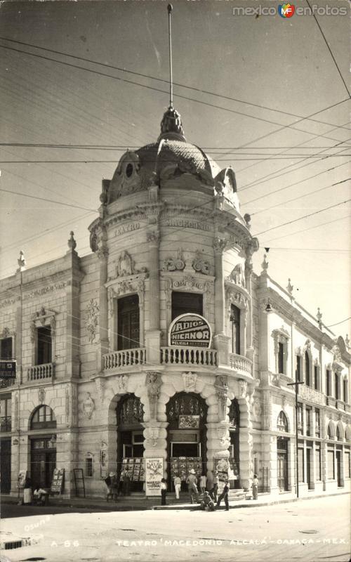 Fotos de Oaxaca, Oaxaca, México: Teatro Macedonio Alcalá