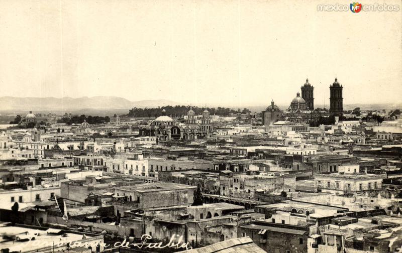 Panorámica parcial de Puebla