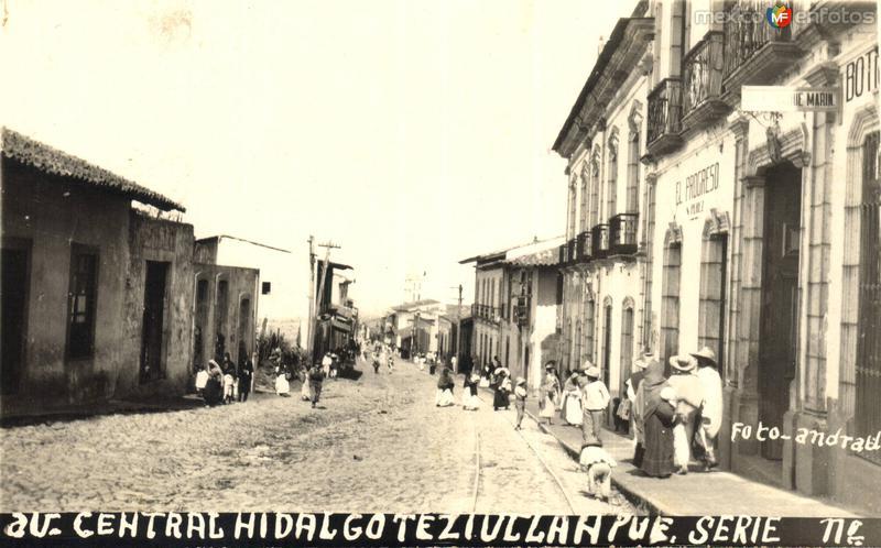 Avenida Central Hidalgo