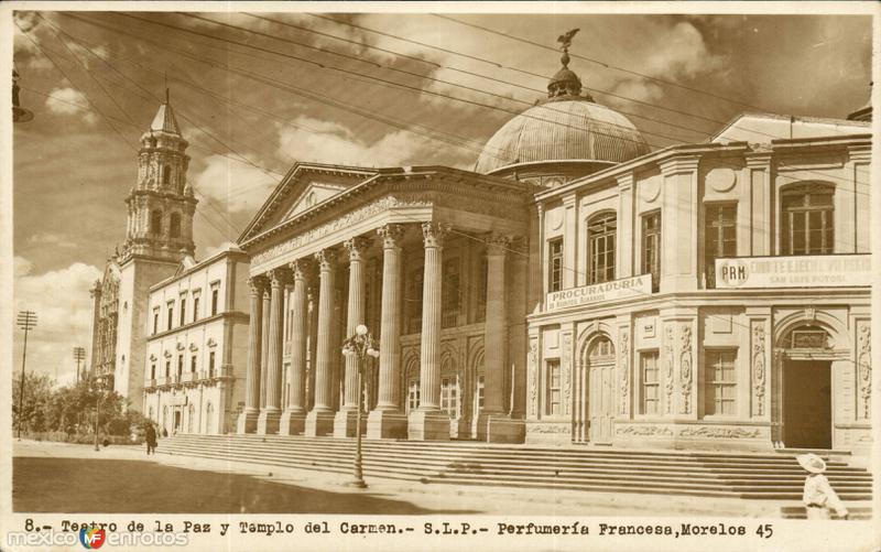 Teatro de La Paz y Templo del Carmen