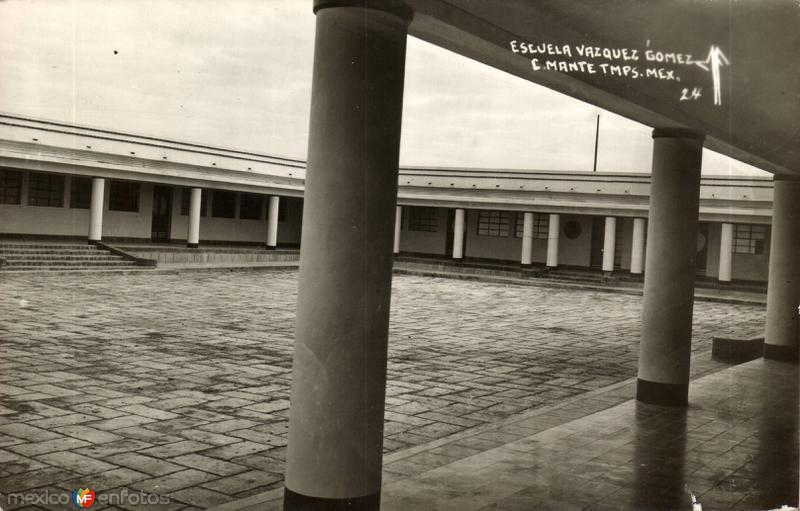 Fotos de Ciudad Mante, Tamaulipas, M�xico: Escuela V�zquez G�mez