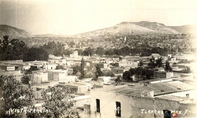 Fotos de Tlaxcala, Tlaxcala, México: Vista parcial de Tlaxcala