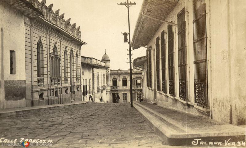 Fotos de Xalapa, Veracruz, M�xico: Calle Zaragoza