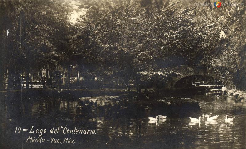 Fotos de Mérida, Yucatán, México: Lago del Parque Centenario
