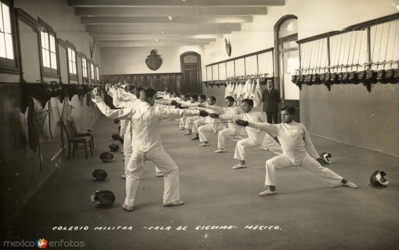 Colegio Militar. Sala de Esgrima