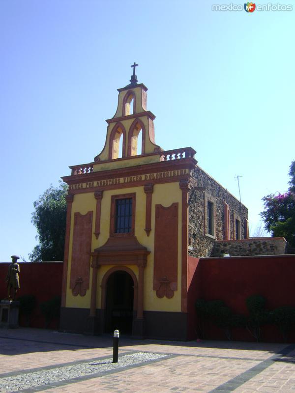 Capilla de la Vigen de los Dolores. Querétaro. Diciembre/2011