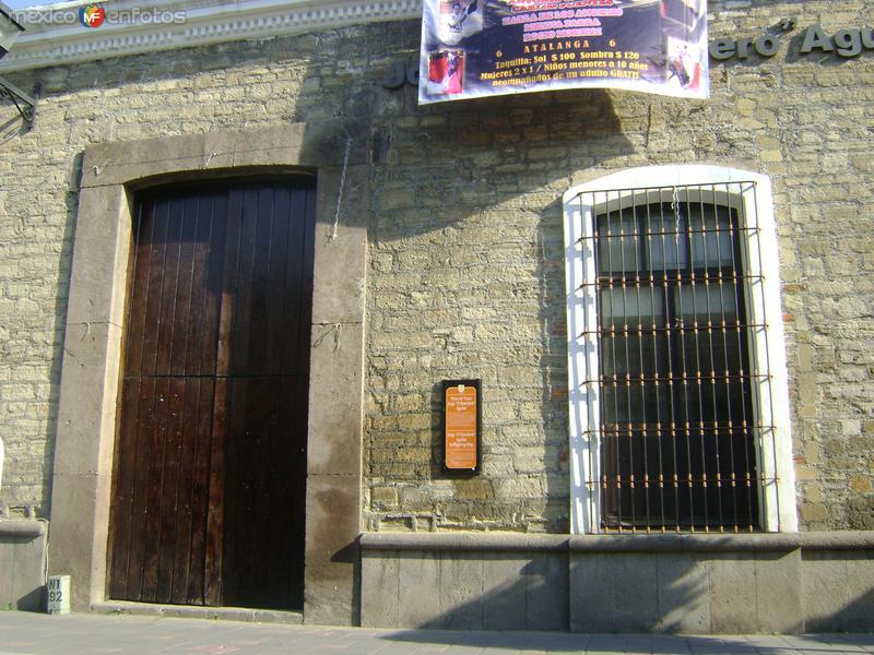 """Fotos de Tlaxcala, Tlaxcala, México: Entrada a la Plaza de Toros Jorge """"Ranchero"""" Aguilar"""