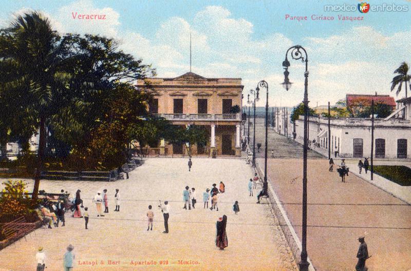 Fotos de Veracruz, Veracruz, México: Parque Ciriaco Vásquez