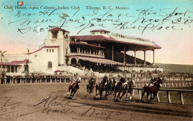 Hipódromo del casino de Agua Caliente
