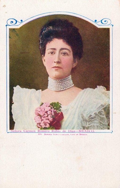 Sra. Carmen Romero Rubio de Díaz