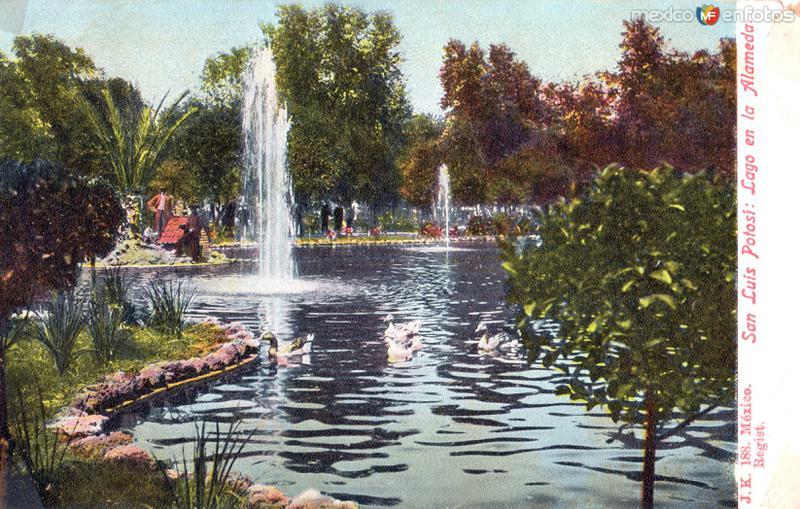 Lago de la Alameda