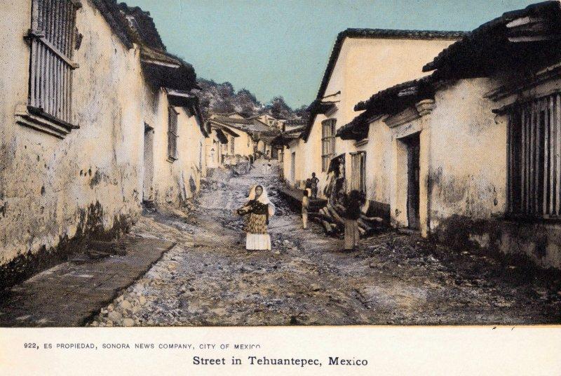 Calle en Tehuantepec