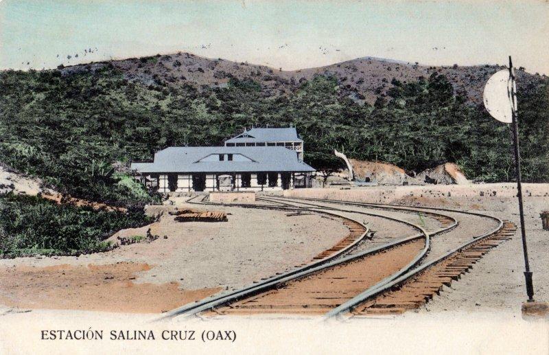Estación del Ferrocarril de Salina Cruz