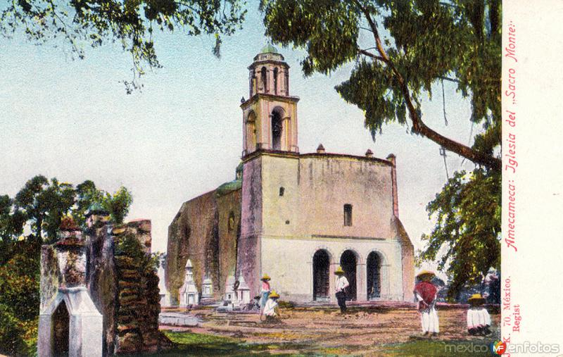 Fotos de Amecameca, M�xico, M�xico: Iglesia del Sacro Monte