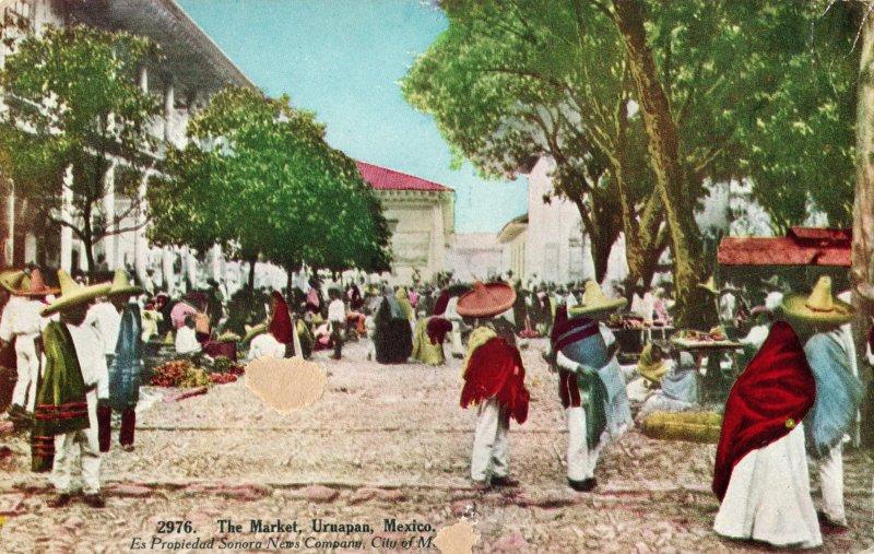 El Mercado de Uruapan