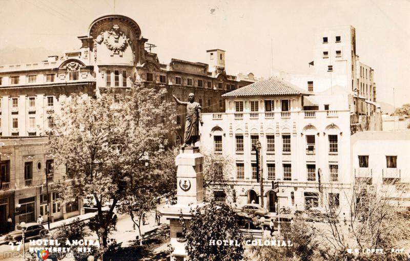 Fotos de Monterrey, Nuevo León, México: Hotel Ancira y Hotel Colonial