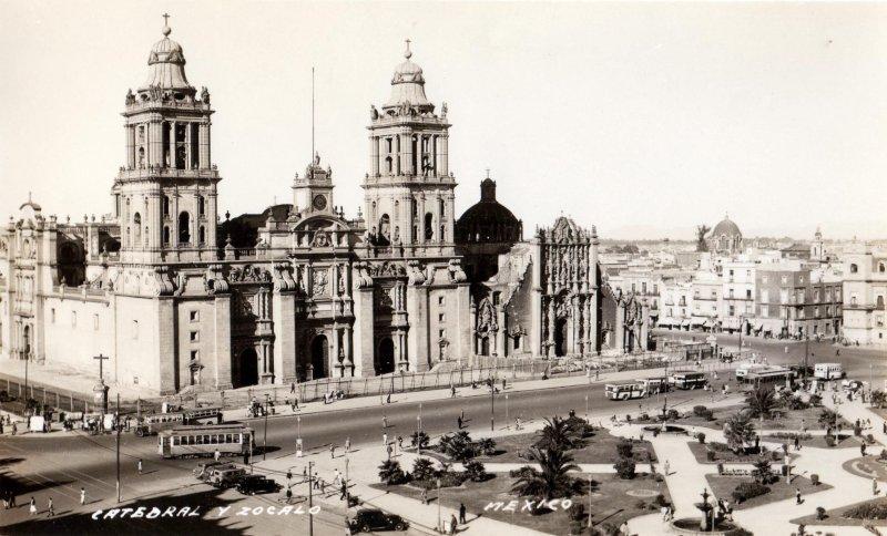 Catedral Metropolitana y Zócalo de la Ciudad de México
